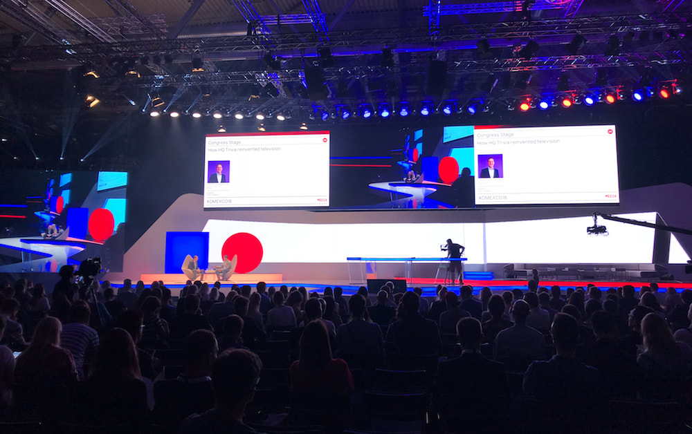 Dmexco 2018 people listening the new trends